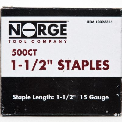 1-1/2&#034; Staples 500-Count
